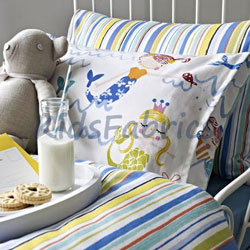 Bedding for childs room in choice of kids fabrics