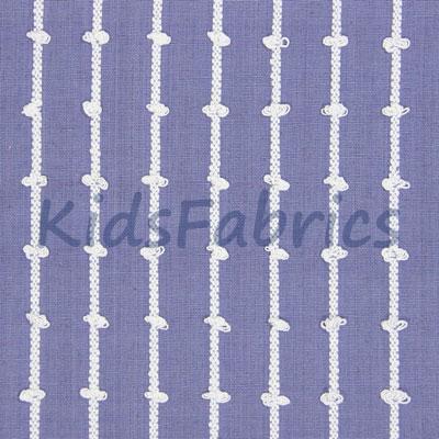Loops - Larkspur Blue - £26.95 per metre