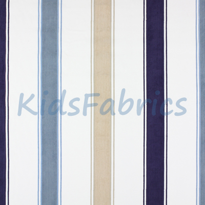 Clipper - Denim Stripe - £35.50 Per Metre