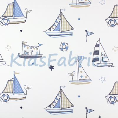 Regatta [Boats] Denim - £45.50 Per Metre