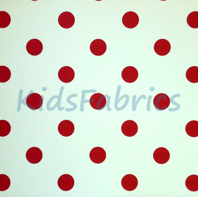 WALLPAPER: Polka dot - Red - £23.95 per roll