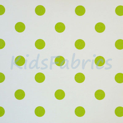 WALLPAPER: Polka dot - Lime - £23.95 per roll