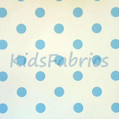 WALLPAPER: Polka dot - Chambray - £23.95 per roll