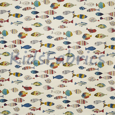 Gone Fishing - Vintage - £12.50 per metre
