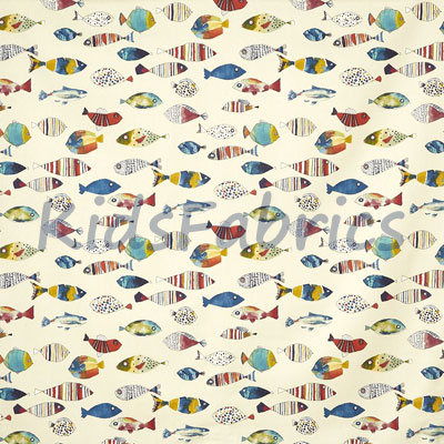 Gone Fishing - Tropical - £11.95 per metre