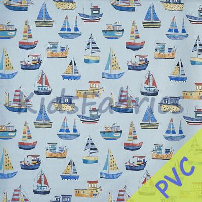 Boat Club - Ocean [PVC] - £14.95 per metre