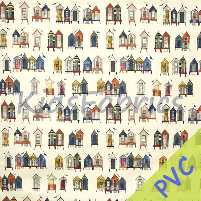 Beach Hut - Antique [PVC] - £14.95 per metre