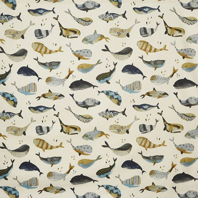 Whale Watching - Antique - £12.50 per metre
