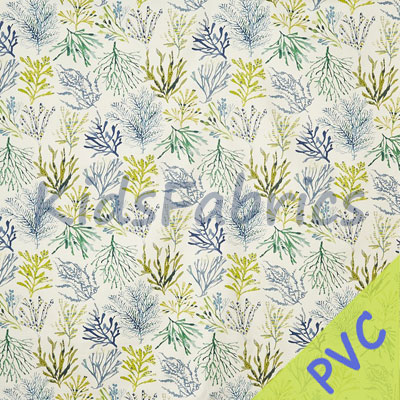 Coral - Seaweed [PVC] - £14.95 per metre