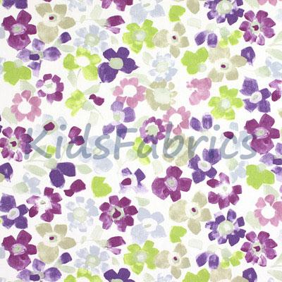 Sweet Pea - Lavender - £11.95 per metre