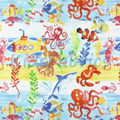Under the sea - Marine - £12.95 Per Metre