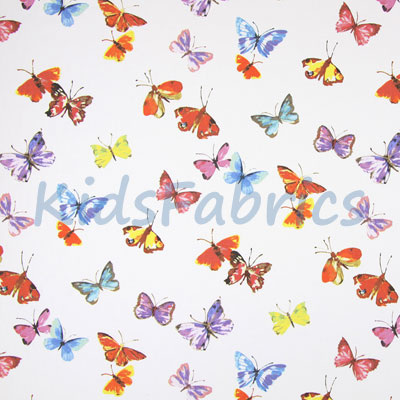 Remnant 1380: Butterfly - white [0.5 metre] - £4.50 ITEM PRICE