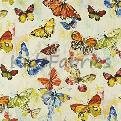 Butterfly Cloud - Tropical - £24.50 per metre