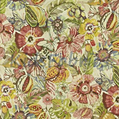 Tropical Garden - Hibiscus - £23.50 per metre