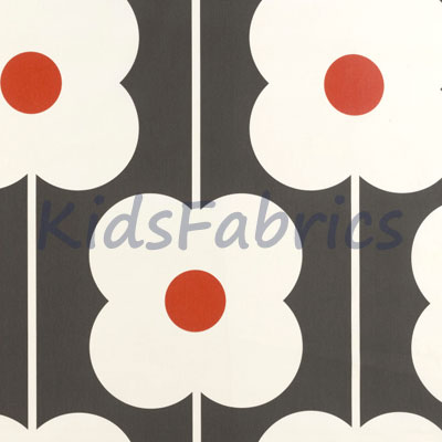 Abacus Flower - Tomato - £18.00 Per Metre