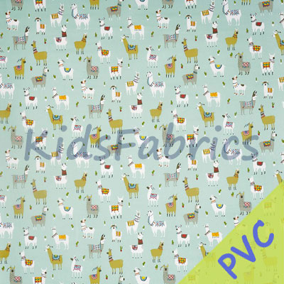 Alpaca - Azure  [PVC] - £14.95 per metre