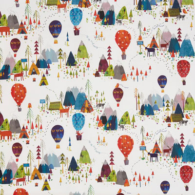 Away we go - Jungle - £17.50 per metre