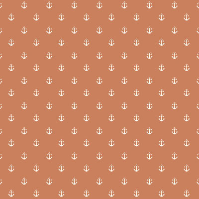 Anchor - Orange - £13.50 per metre