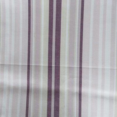 Remnant 1688: Stripe - Aubergine [1.00 metre] - £8.50 ITEM PRICE