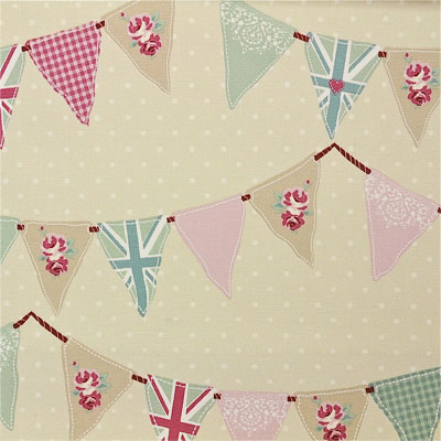 Bunting - Pink - £13.50 per metre