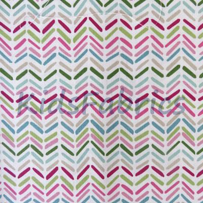 Celeste Stripe - Pink - £13.95 per metre