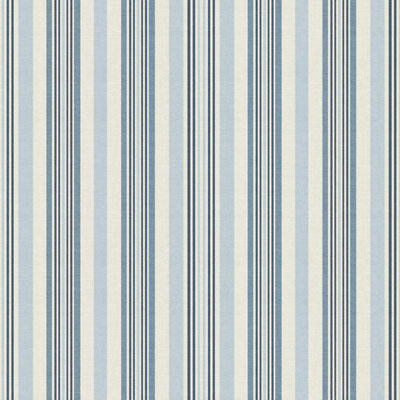 Coastal stripe - Blue - £12.50 per metre