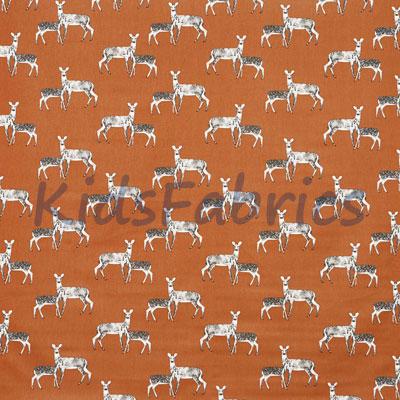 Deer - Cinder - £12.95 Per Metre