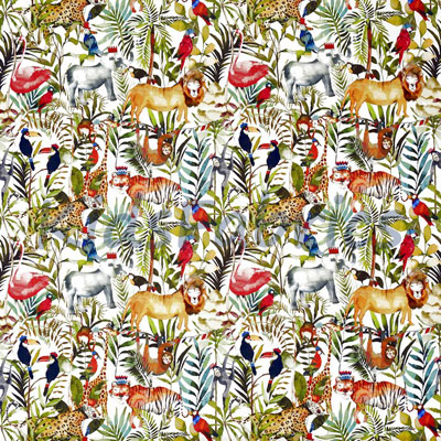 King Of The Jungle - Safari - £14.75 per metre