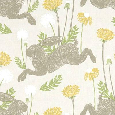 March Hare - Linen - £13.50 per metre