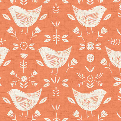 Narvic - Burnt Orange - £12.50 per metre