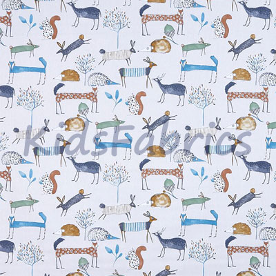 Oh My Deer - Colonial - £12.50 per metre