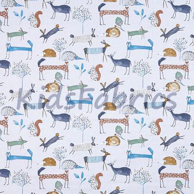 Oh My Deer - Colonial - £11.95 per metre