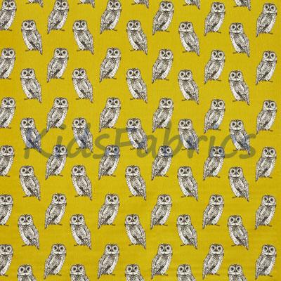 Owl - Saffron - £12.95 Per Metre