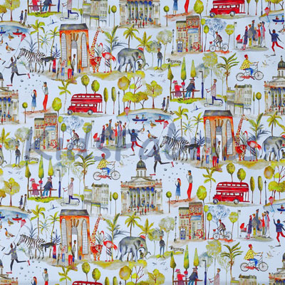 Out and About - Sky Blue - £15.50 per metre