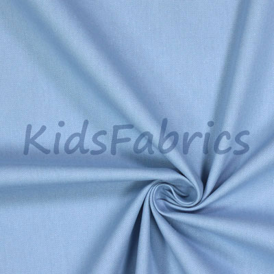 Chambray Blue - Panama Cotton - £10.50 per metre