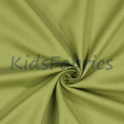 Olive Green - Panama Cotton - £11.50 per metre