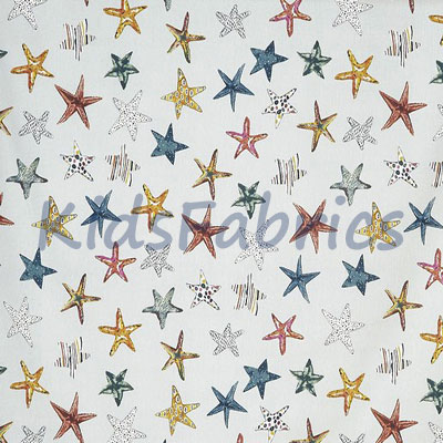 Starfish - Pebble - £12.95 per metre
