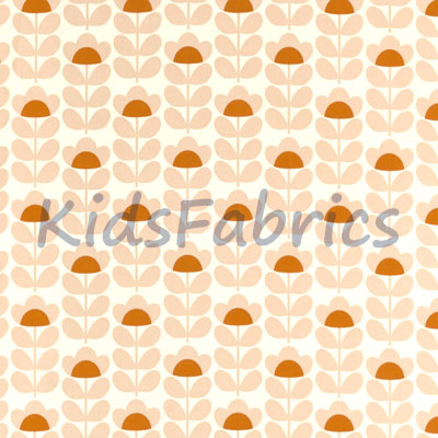 Sweet Pea - Orange - £18.00 Per Metre