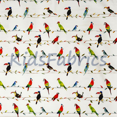 Toucan Talk - Paintbox - £14.75 per metre