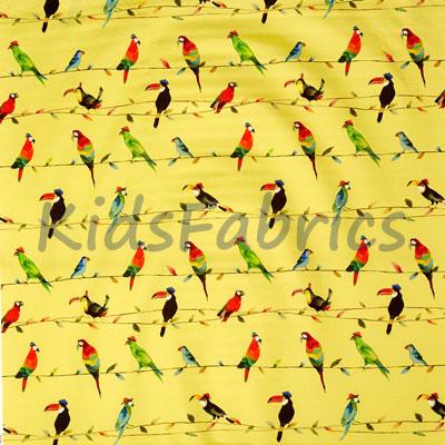 Toucan Talk - Zest - £14.50 per metre