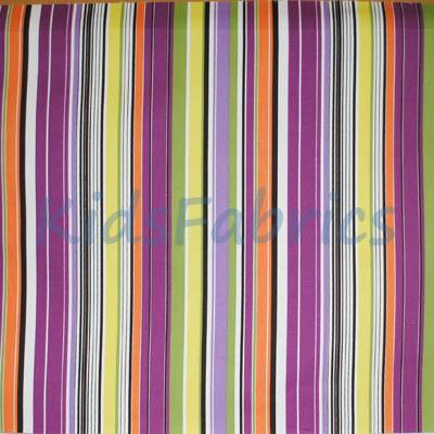 Allegra - Cassis Stripe - £11.95 per metre