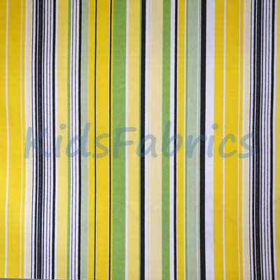 Stripe fabrics stripey fabric collections for Childrens drapery fabric