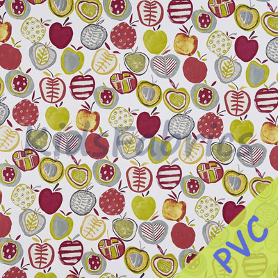 Apples - Berry [PVC] - £14.95 per metre