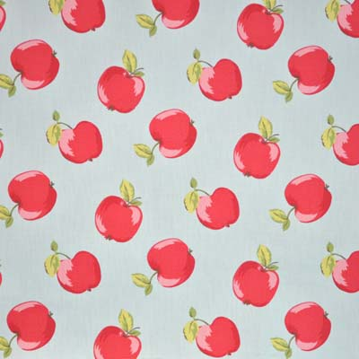 Apples - Seafoam - £11.95 per metre