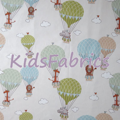Zoo Animals - Multi - £13.95 per metre