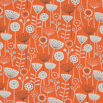 Bergen - Burnt Orange - £12.50 per metre