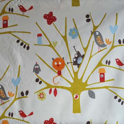 Animal fabrics kids curtain fabric for curtains blinds and for Cheap childrens curtain fabric