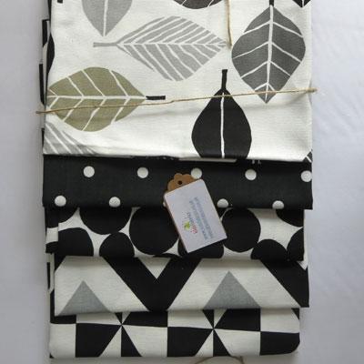 Black & White Fabric Bundle - £11.00 ITEM PRICE