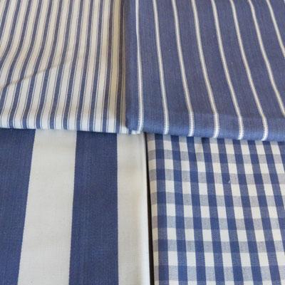 Blue Check and Stripe Bundle - £17.50 ITEM PRICE