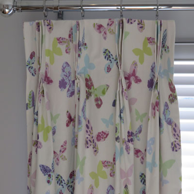 CURTAINS: BUTTERFLY - £99.00 ITEM PRICE